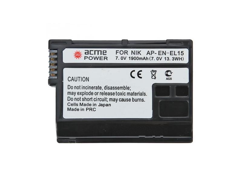 Аккумулятор AcmePower EN-EL15