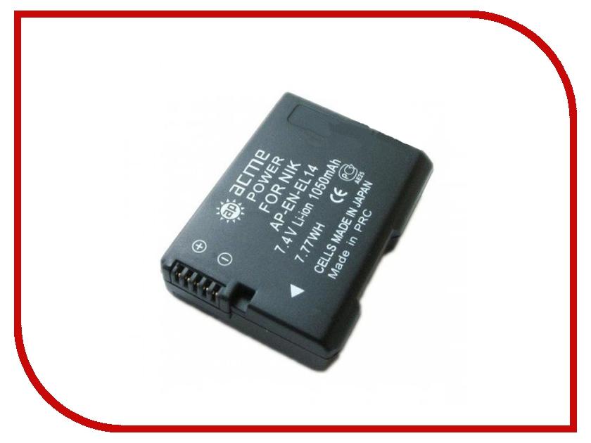 Аккумулятор AcmePower EN-EL14<br>