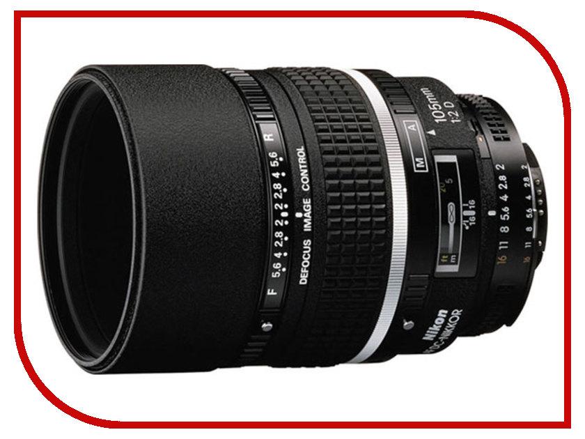 Объектив Nikon Nikkor AF 105 mm F/2.0 D DC<br>