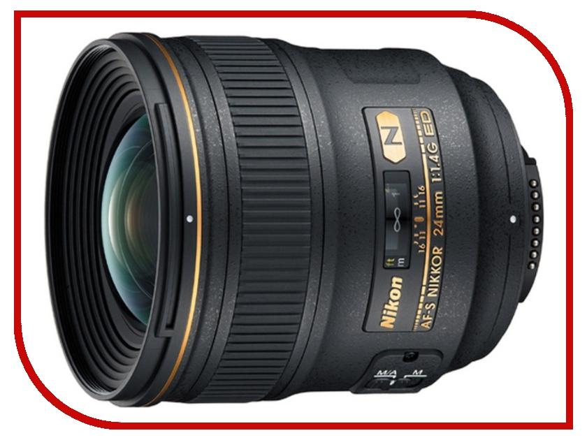 Объектив Nikon Nikkor AF-S 24 mm F/1.4 G ED<br>