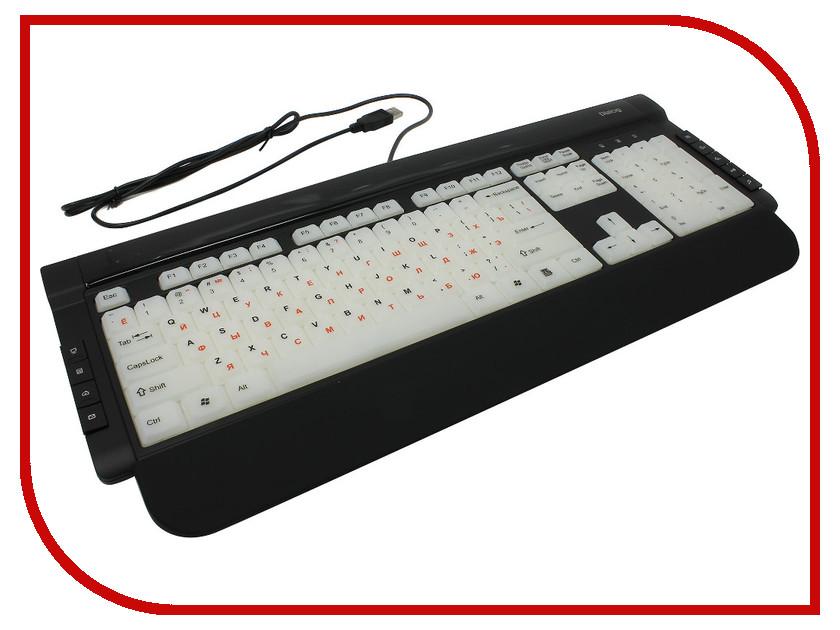 Клавиатура Dialog Katana KK-L06U Black