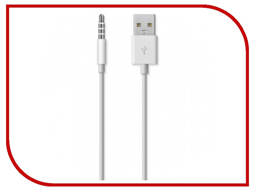 Аксессуар APPLE iPod Shuffle USB Cable MC003ZM/A