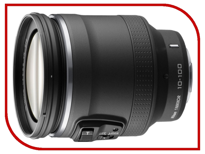 Объектив Nikon Nikkor 10-100 mm F/4.5-5.6 VR PD-Zoom for Nikon 1<br>
