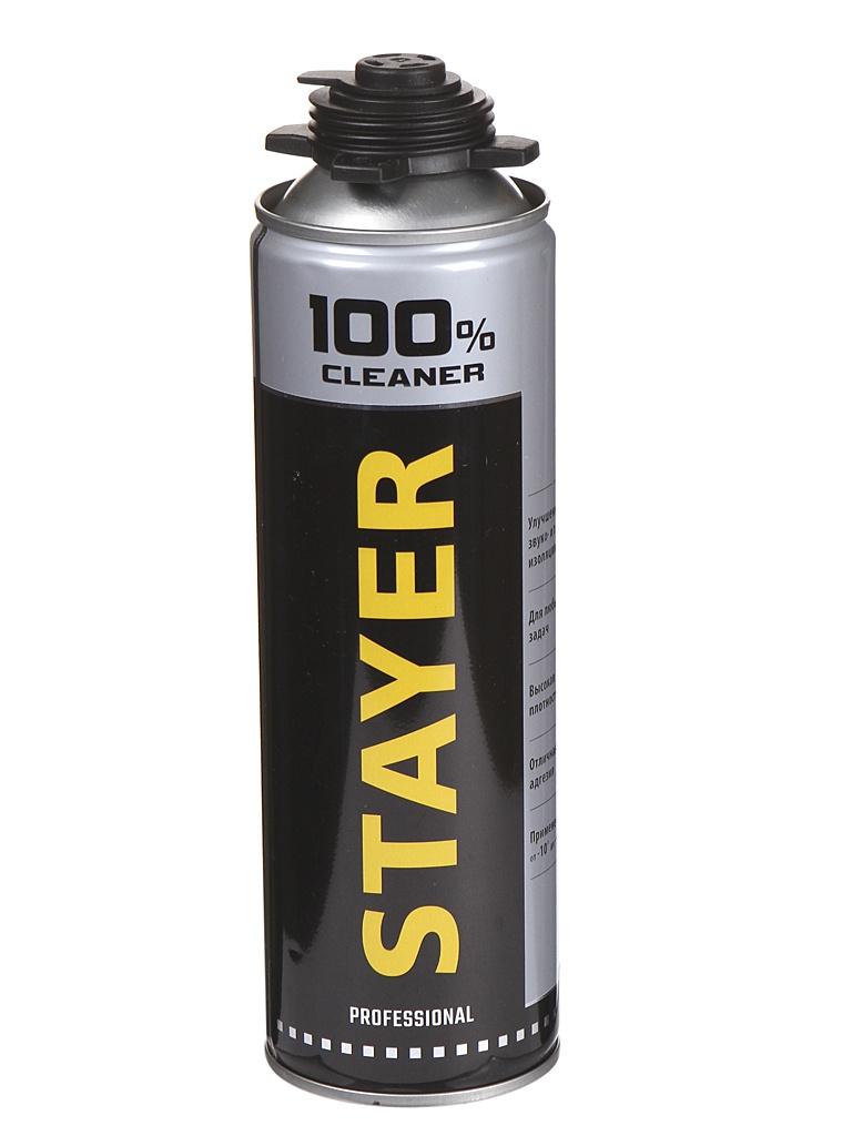 Очиститель монтажной пены Stayer 500ml 41139
