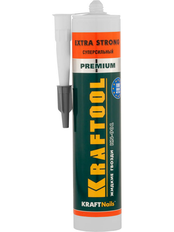Клей монтажный Kraftool KraftNails Premium KN-901 310ml 41343 / z01