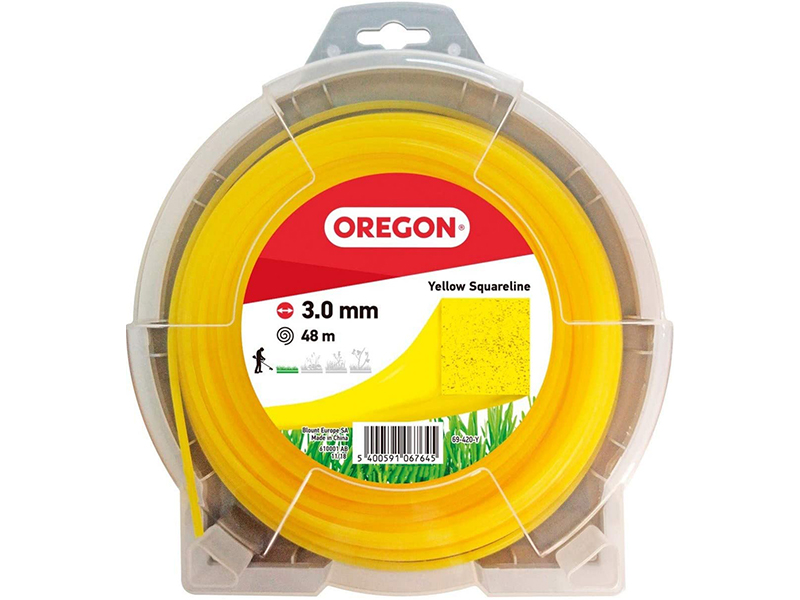 Леска для триммера Oregon Yellow Squareline 3mm x 48m 69-420-Y