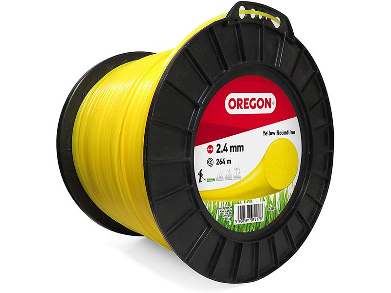 Леска для триммера Oregon Yellow Roundline 2.4mm x 264m 69-365-Y