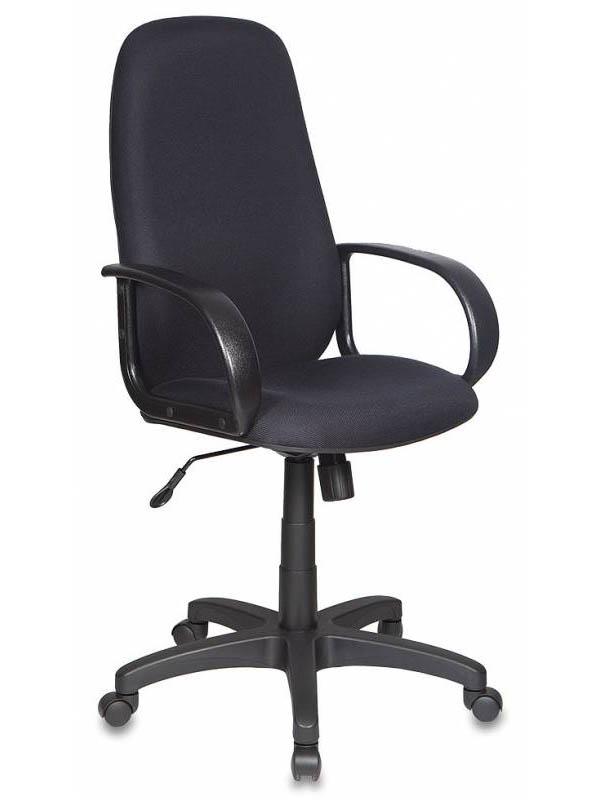 Компьютерное кресло Бюрократ CH-808AXSN Black 664036 кресло руководителя бюрократ ch 808axsn на колесиках ткань темно серый [ch 808axsn g]