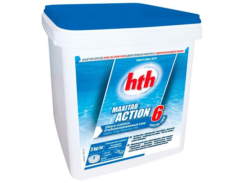 Многофункциональные таблетки HTH Maxitab Action 6 5kg K801797H2
