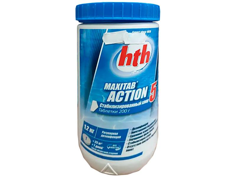 Многофункциональные таблетки HTH Maxitab Action 5 in 1 1.2kg K801751H2