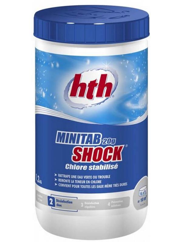 Многофункциональные таблетки HTH Minitab Shock 1.2kg C800672H2