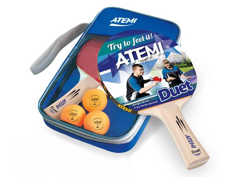 Набор для настольного тенниса Atemi Duet