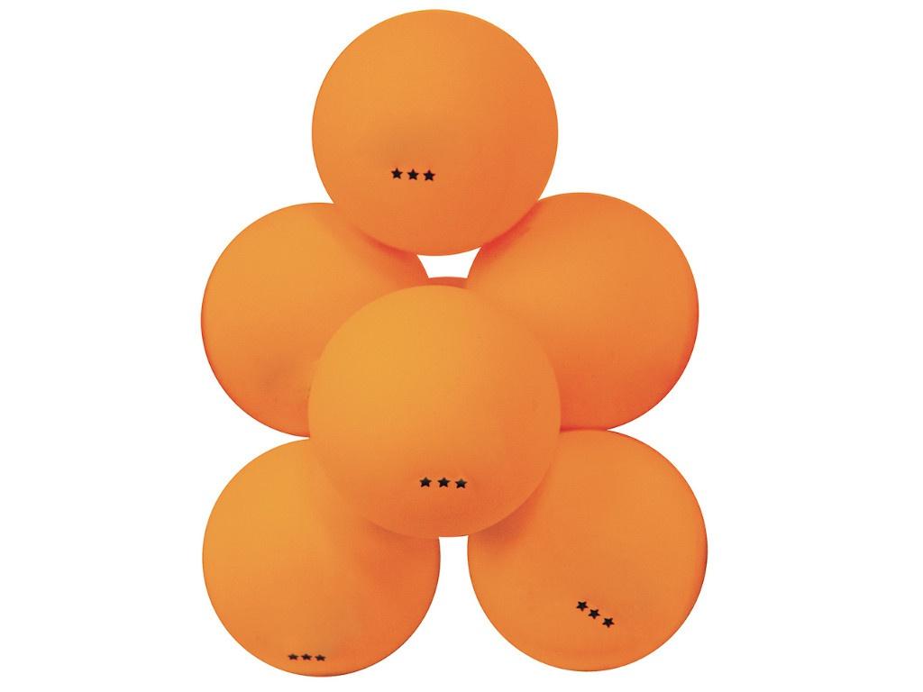 Мячи для настольного тенниса Atemi 3 6шт Orange ATB301
