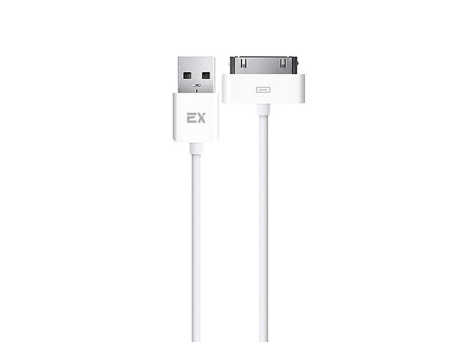 Аксессуар Exployd Classic USB - 30-pin 1m White EX-K-806