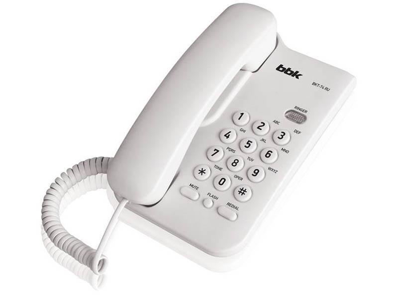 Телефон BBK BKT-74 RU White