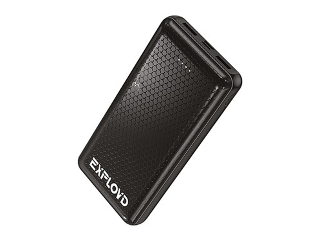 Внешний аккумулятор Exployd Power Bank Classic Slim 10000mAh Black EX-PB-908
