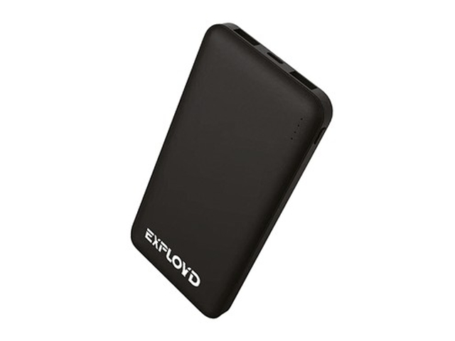 Внешний аккумулятор Exployd Power Bank Classic Slim 10000mAh Black EX-PB-907