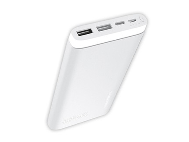 Внешний аккумулятор Exployd Power Bank Classic Aluminum 10000mAh Silver EX-PB-902