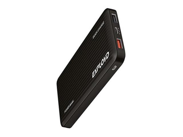 Внешний аккумулятор Exployd Power Bank Classic Slim 10000mAh Black EX-PB-896