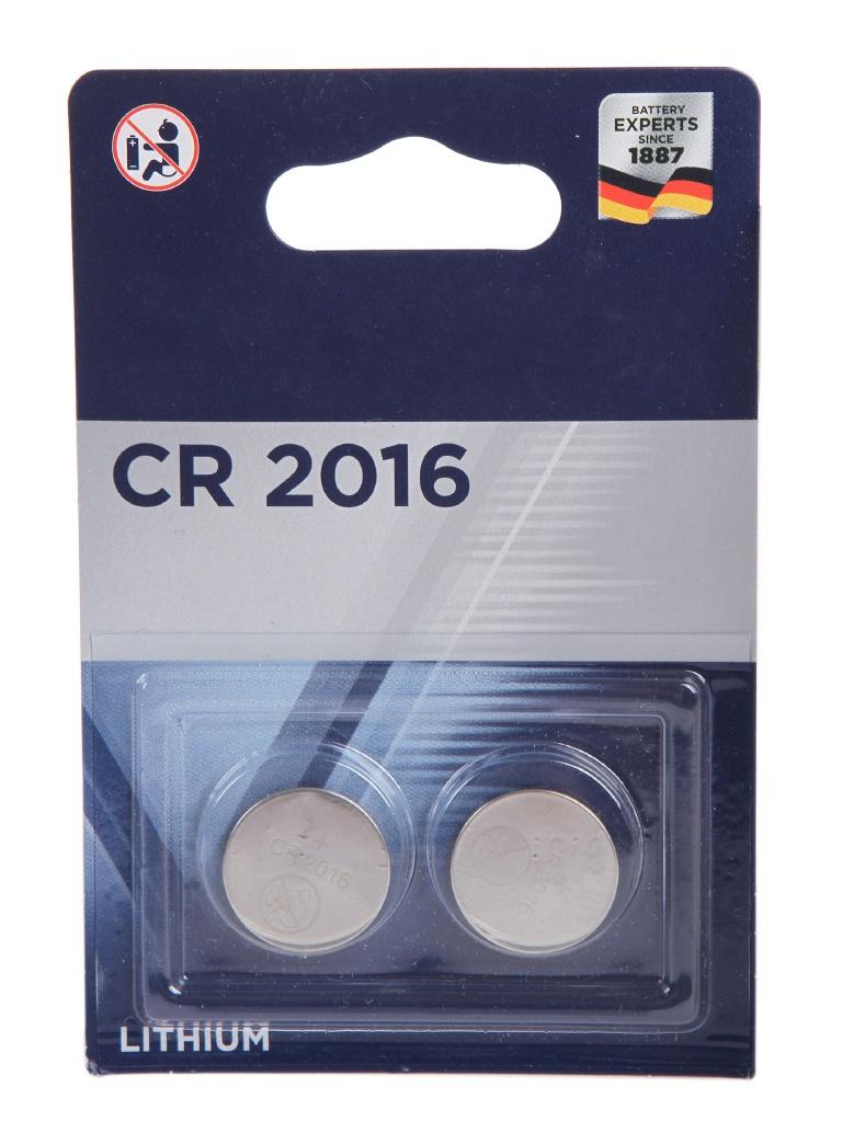 Батарейка CR2016 - Varta CR2016/2BL 6016101402