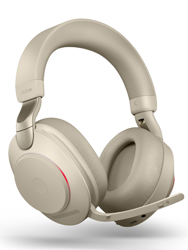 Наушники Jabra Evolve2 85 Link380a MS Stereo Stand Beige 28599-999-988