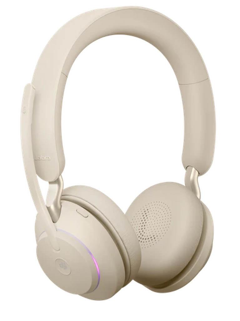 Наушники Jabra Evolve2 65 Link380c MS Stereo Beige 26599-999-898