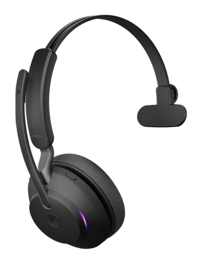 Наушники Jabra Evolve2 65 Link380a MS Mono Stand Black 26599-899-989