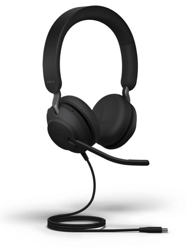 Наушники Jabra Evolve2 40 USB-A MS Stereo 24089-999-999