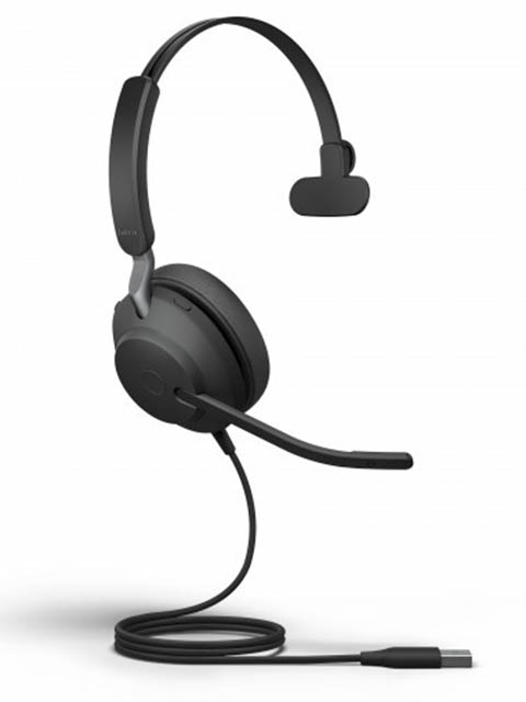 Наушники Jabra Evolve2 40 USB-A UC Mono 24089-889-999 jabra evolve 20 uc mono