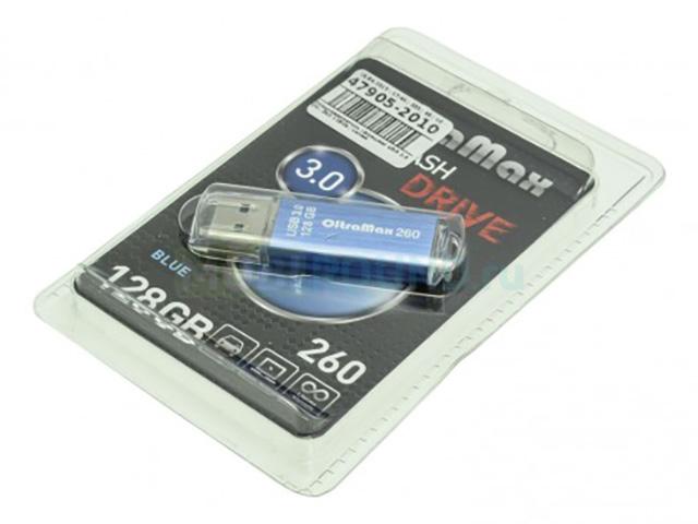 USB Flash Drive 128Gb - OltraMax 260 OM-128GB-260-Blue