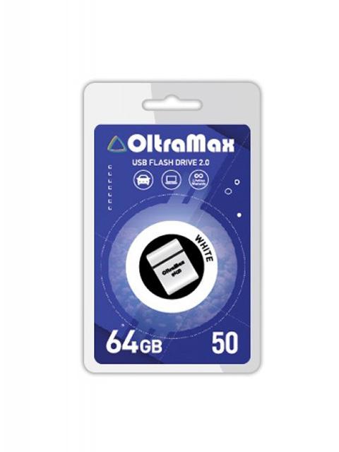 USB Flash Drive 64Gb - OltraMax 50 OM-64GB-50-White