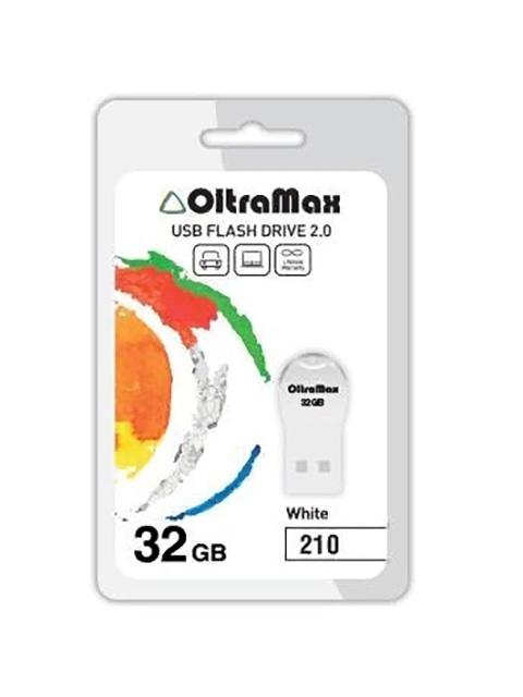 Фото - USB Flash Drive OltraMax 210 32GB White e27 29gn photo studio white light slave flash bulb greyish white