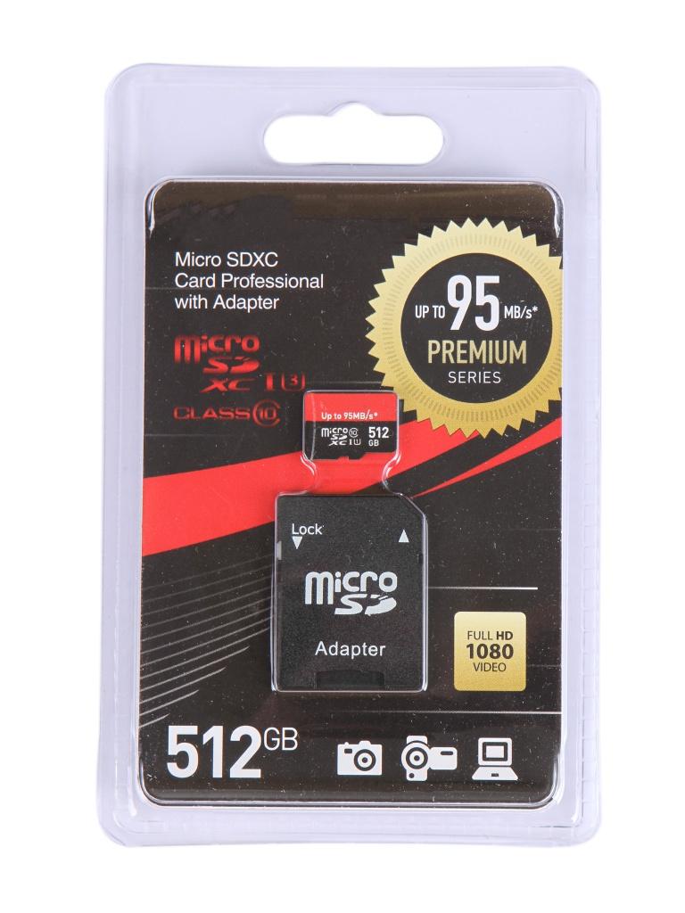 Фото - Карта памяти 512Gb - OltraMax Micro Secure Digital XC Class 10 UHS-1 Premium OM512GCSDXC10UHS-1-PrU3 с переходником под SD кукла bjd 1 3bjd sd