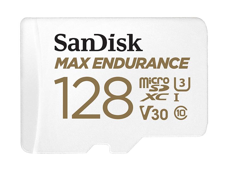 Карта памяти 128Gb - SanDisk microSD Max Endurance Class 10 UHS-I SDSQQVR-128G-GN6IA