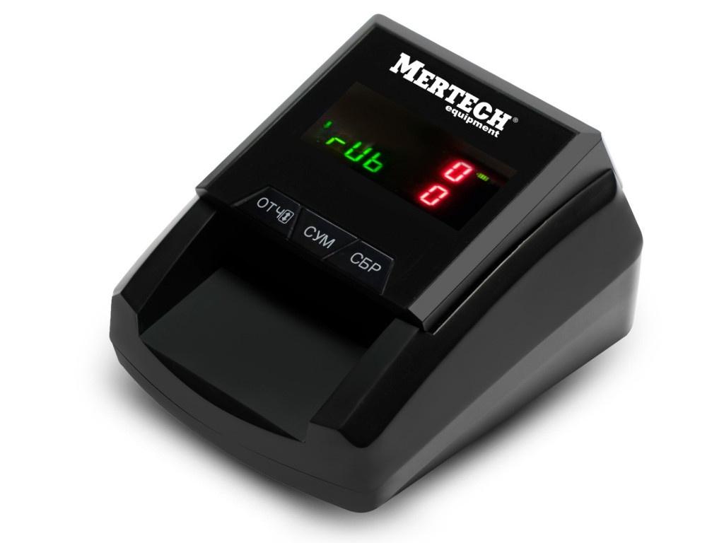 Детектор валют Mertech D-20A Flash Pro LED с АКБ