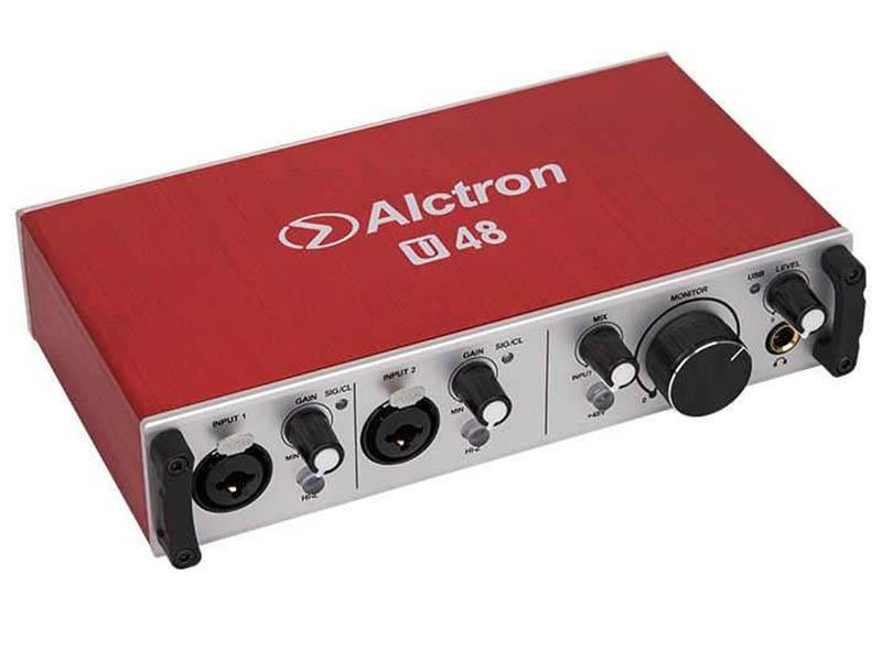 Аудиоинтерфейс Alctron U48