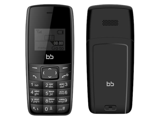 Сотовый телефон Nobby BB1 Black BB-BP-11 сотовый телефон nobby 110 white gray