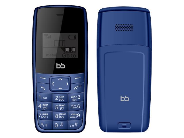 цены Сотовый телефон Nobby BB1 Dark Blue BB-BP-12