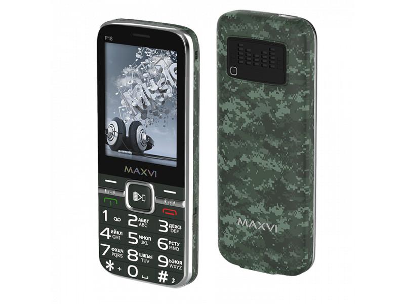 Сотовый телефон Maxvi P18 Military сотовый телефон maxvi t5 dark blue