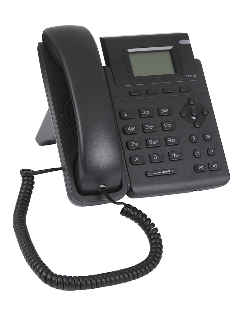 VoIP оборудование Yealink SIP-T19P E2 без БП