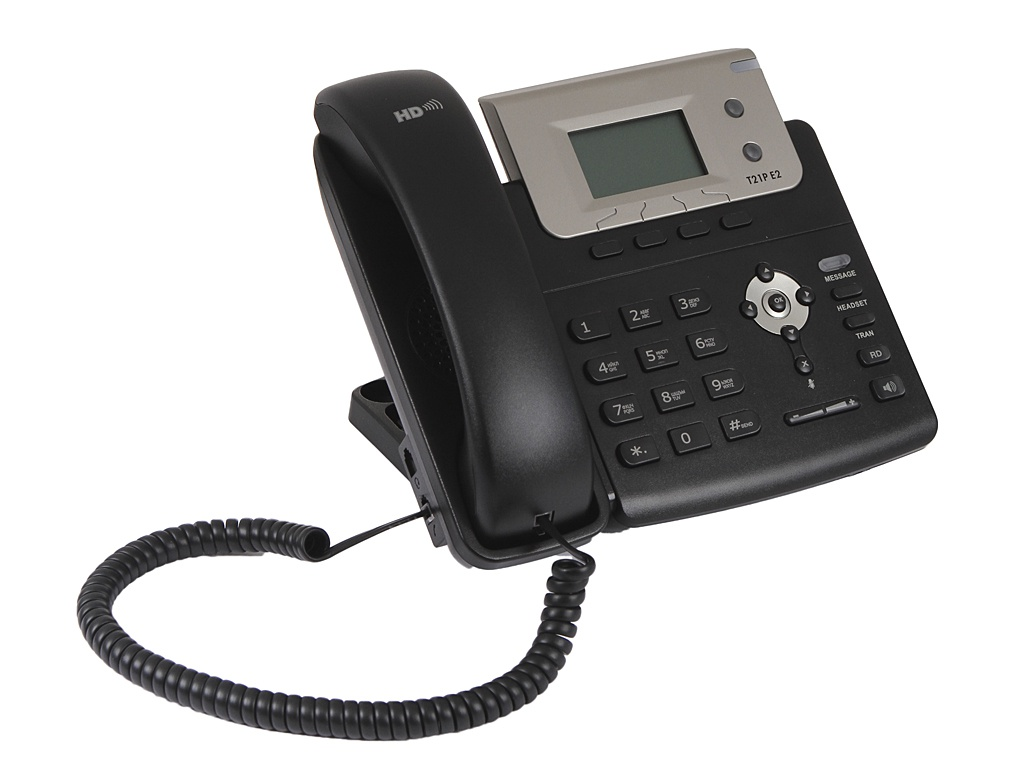 VoIP оборудование Yealink SIP-T21P E2 без БП