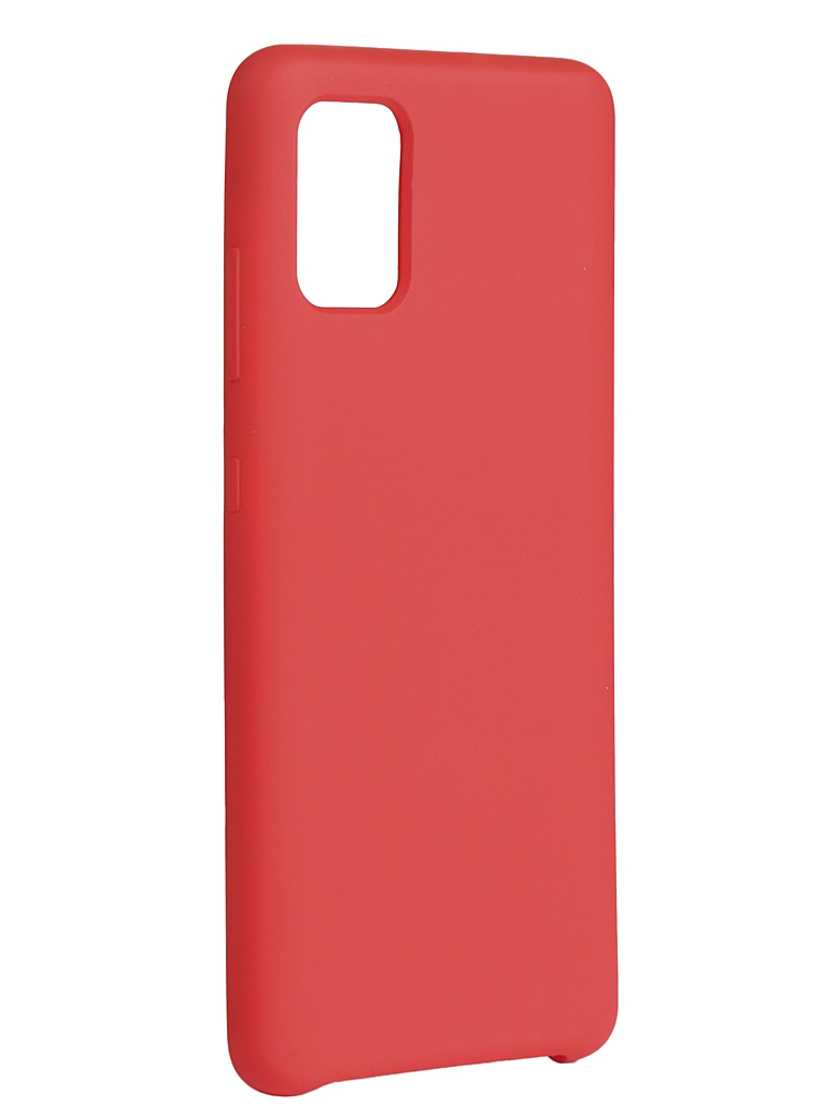 Чехол Innovation для Samsung Galaxy A51 Silicone Cover Red 16962