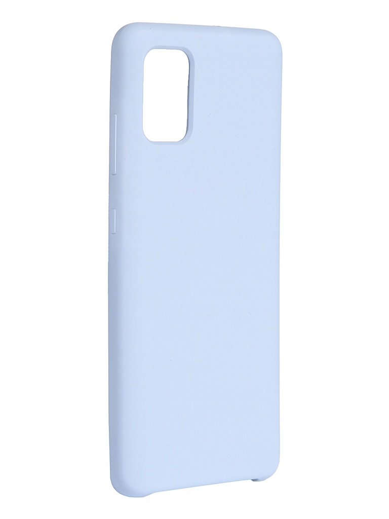 Чехол Innovation для Samsung Galaxy A51 Silicone Cover Light Blue 17015