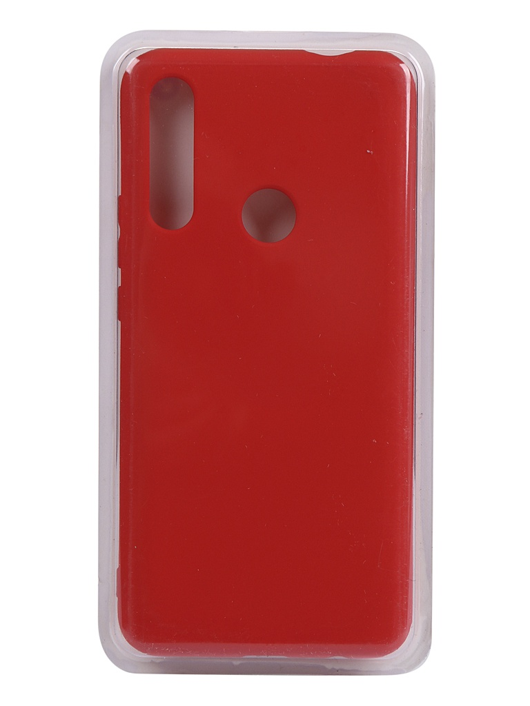Чехол Innovation для Huawei Honor 9X Silicone Cover Red 16616
