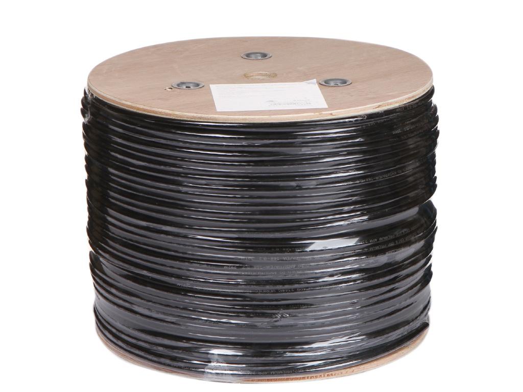 Сетевой кабель ATcom UTP Cat 6 CU PVC+PVE 0.5mm 305m AT0888