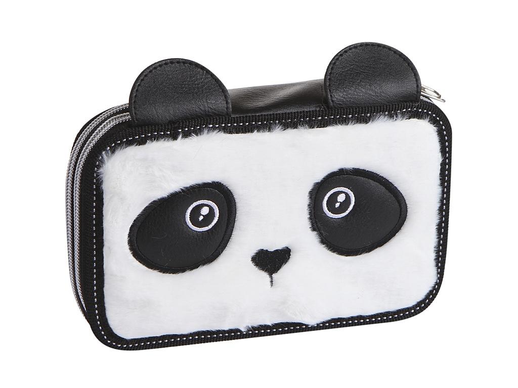 Пенал №1 School Panda 190x115mm 1117659