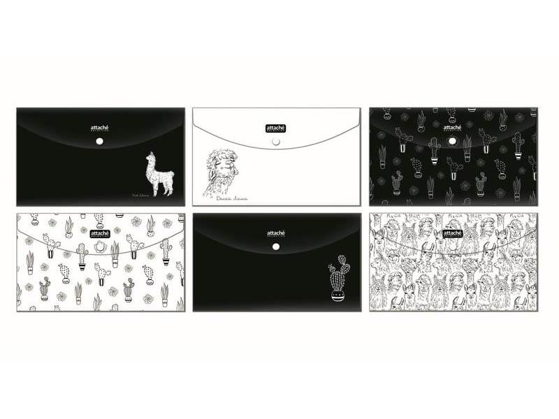 Папка Attache Selection Travel Llamas 115x235mm 1067689