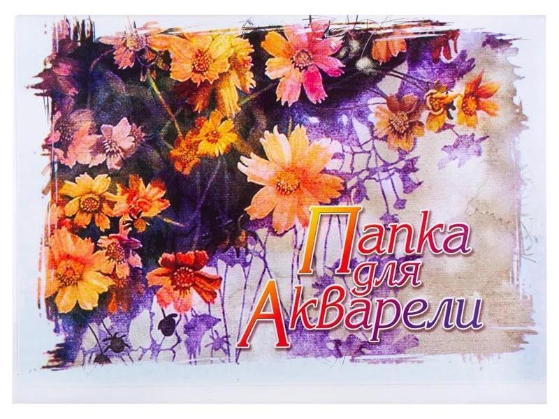 Папка для рисования акварелью Невская Палитра Природа-2 A3 20 листов 02379
