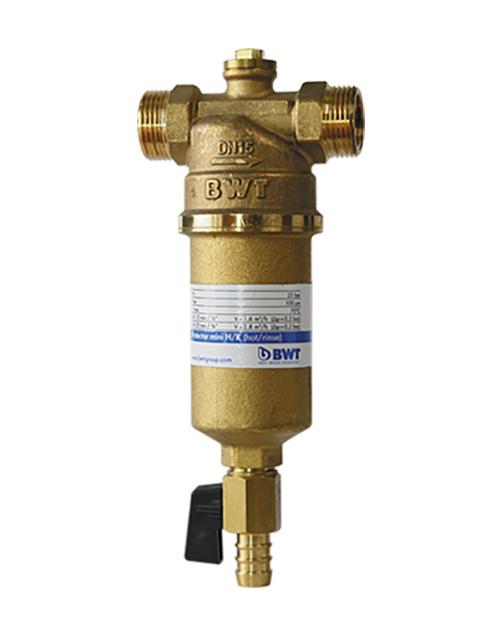Фильтр для воды BWT Protector Mini H/R 3/4 муфтовый (НР/НР) со сливом