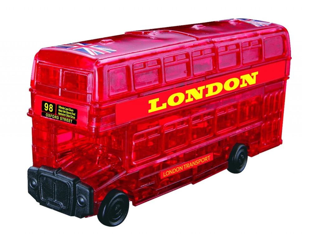 3D-пазл DIY House Магический кристалл Автобус 9062